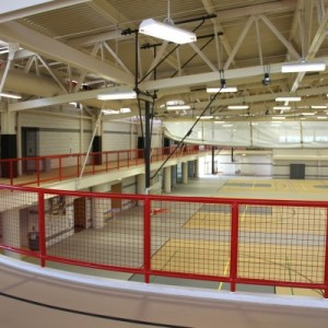 Mezzanine Track Sports Flooring