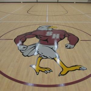 Vinyl School Flooring Logo
