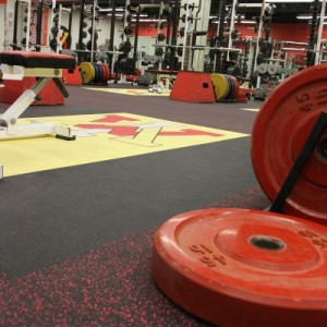 VMI Weightlifting Room