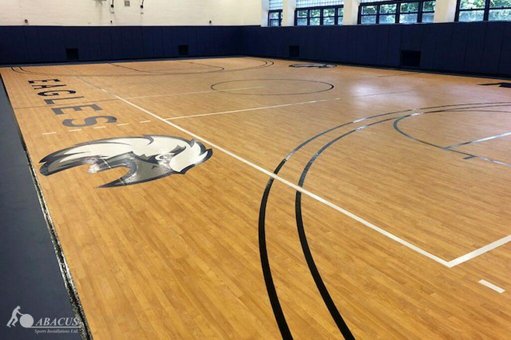 The 5 Benefits Of Vinyl Gym Flooring, Laminate Basketball Flooring